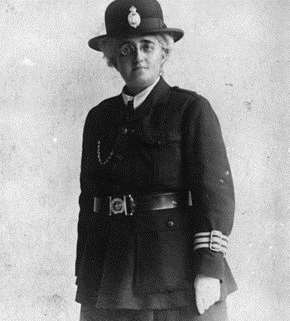 Edith Smith's, Britain's first policewoman to be granted the power of arrest.