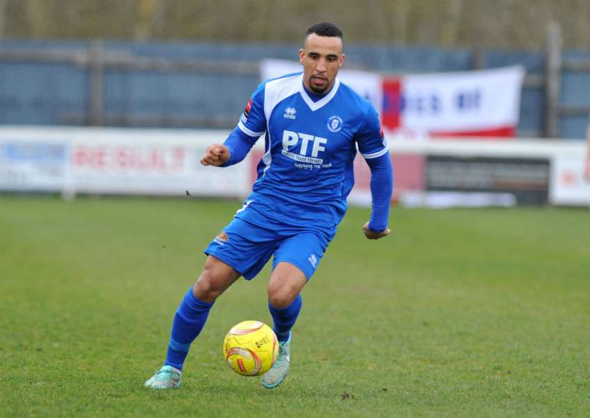 LOCAL LAD: Jordan Patrick has signed for Mildenhall