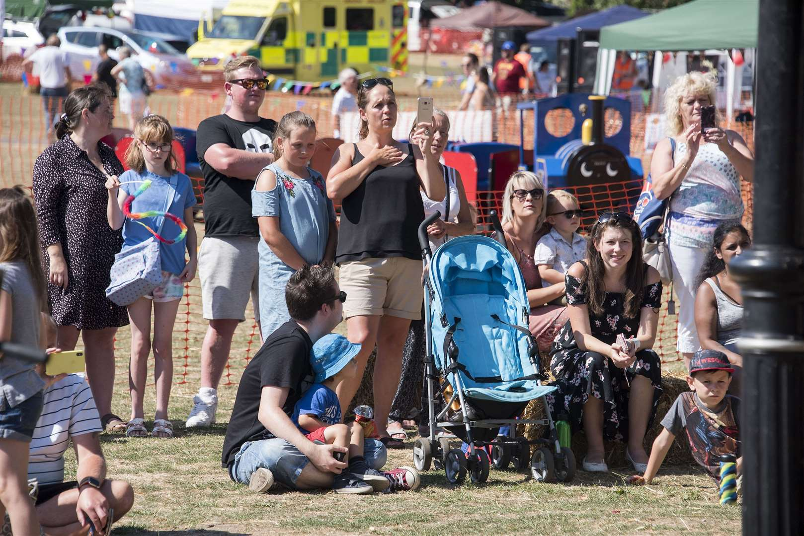 People enjoying the Haverhill Show last year, when temperatures were soaring. Picture by Mark Westley.