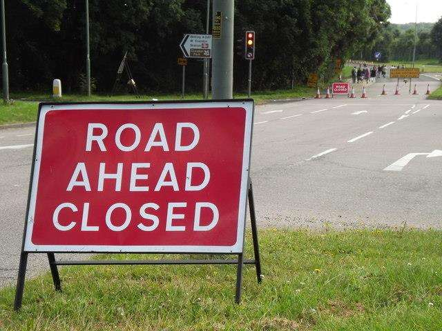 The road will be closed for 14 weeks (6321762)