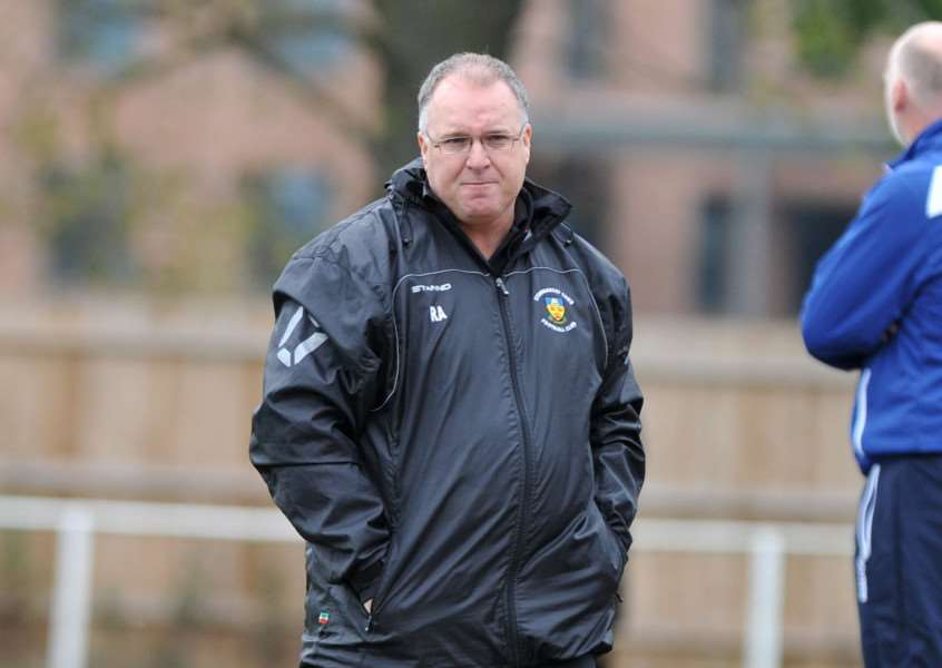 UNHAPPY BOSS: Stow boss Rick Andrews