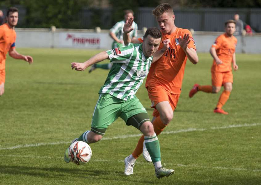 BACK IN TOWN: Sam Mulready has rejoined Soham after a spell with Corby