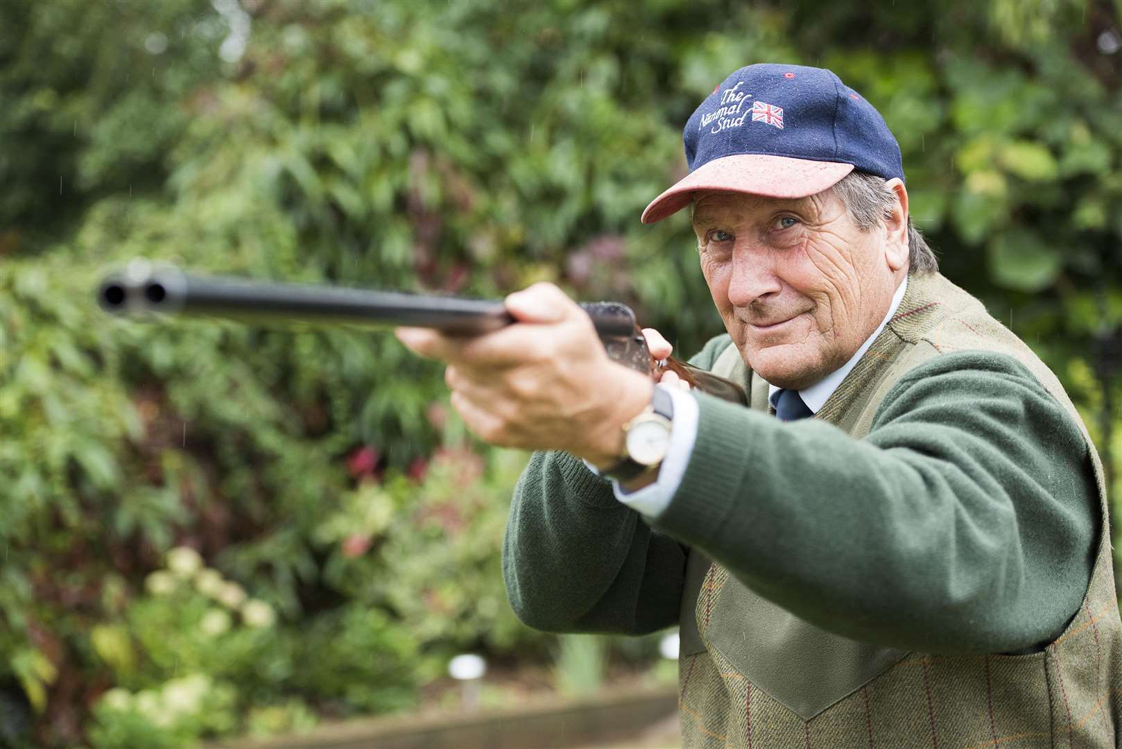 JOINT THIRD: Dennis Kent won the Continental category of the sporting competition – which permits guns from abroad – alongside two fellow competitors with a score of 93/120 (Picture: Mark Westley)