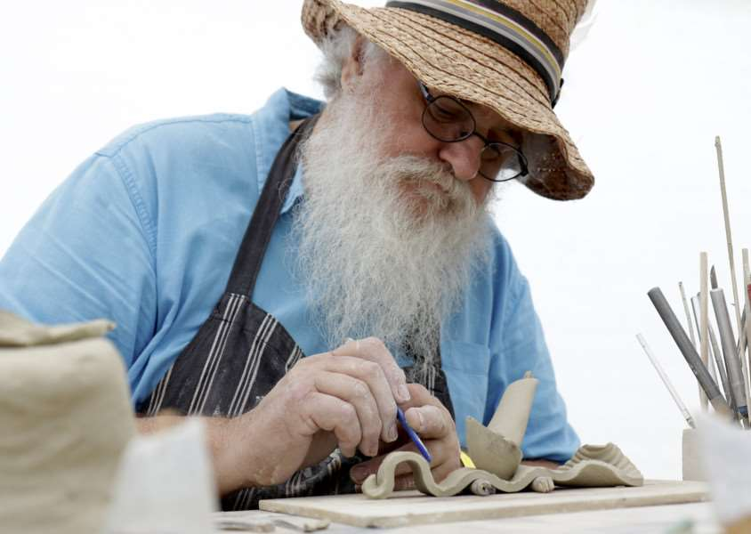Wood Fair weekend at Ickworth House. Pictured is Anton Todd. ''Picture: MARK BULLIMORE ANL-160810-223544009