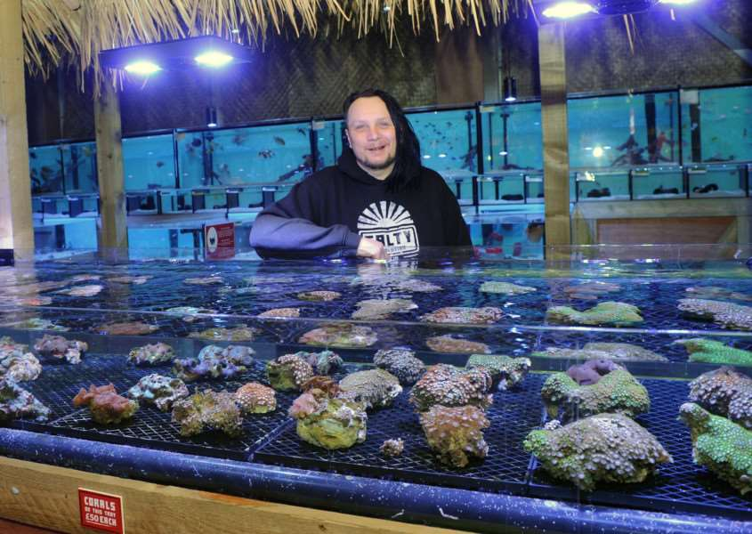 Aquatic business which has hints of Caribbean - Salty Revolution in Milddenhall''Pictured: James Goodchild''''PICTURE: Mecha Morton