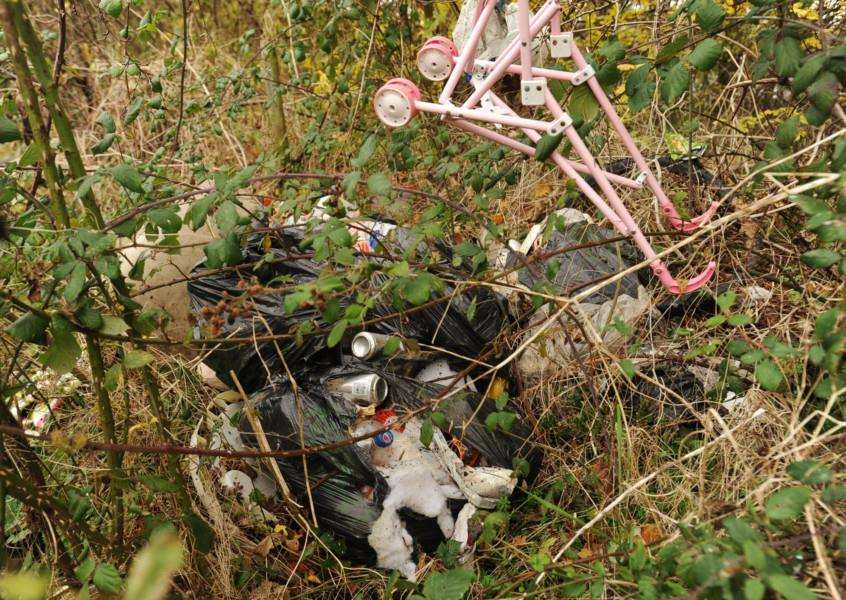 Fly tipping incidents are on the up, according to council statistics.