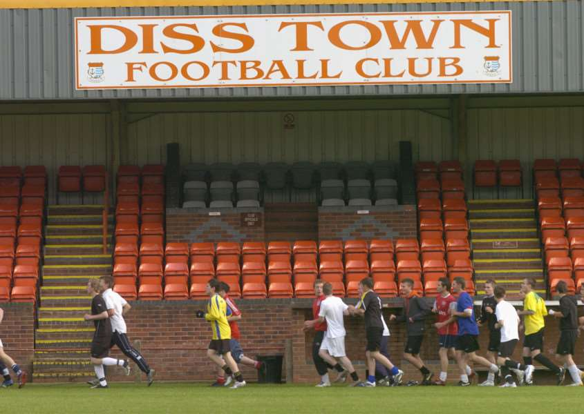 FRESH START: Diss have appointed Paul Bugg as manager