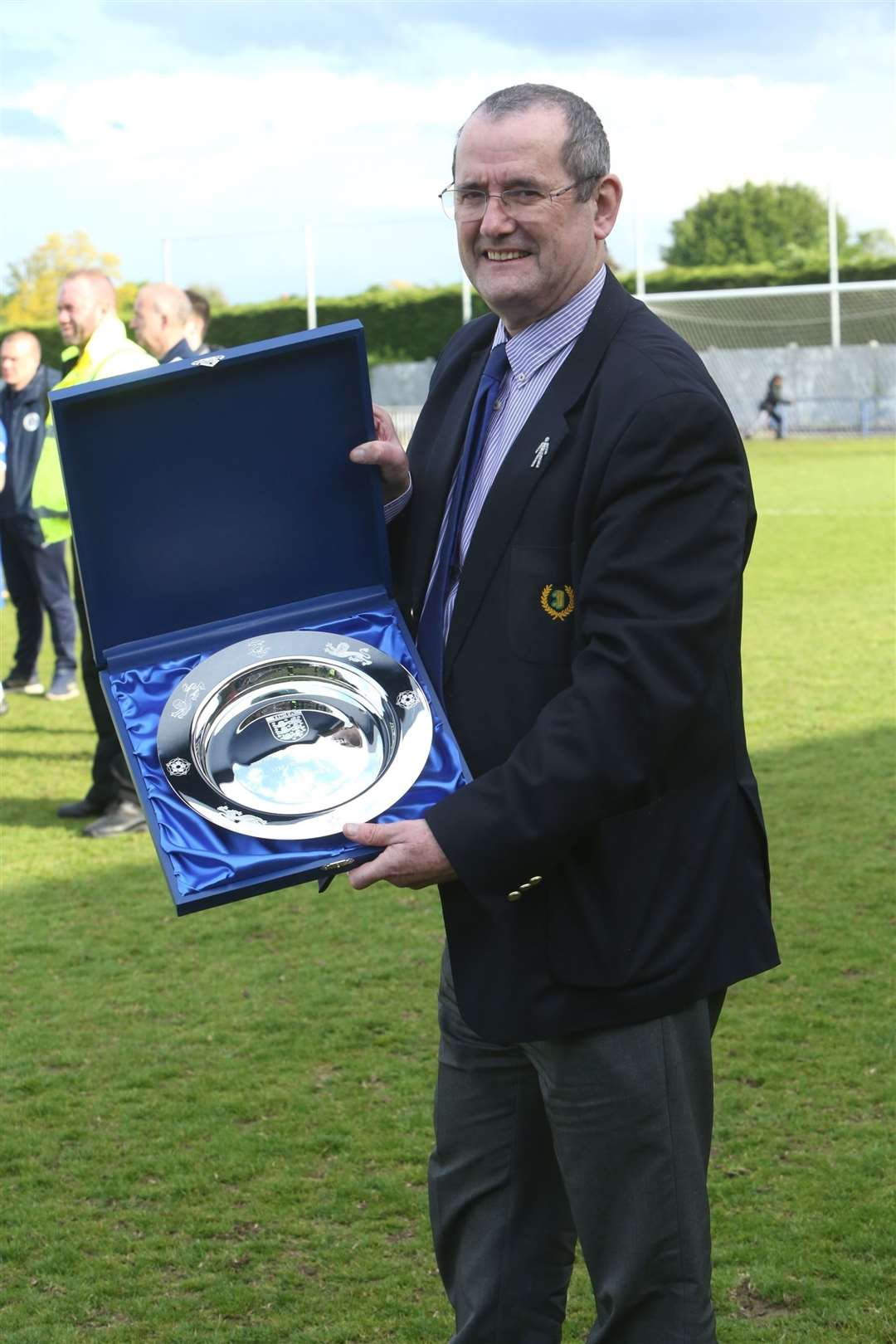 Isthmian League chairman Nick Robinson. Met Police v Tonbridge Angels super play-off final. Picture: David Couldridge (31804252)