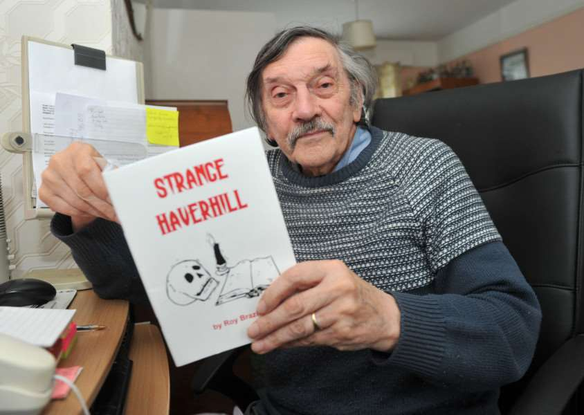 Roy Brazier is a local historian with many books behind him.'He launched a new book this week called Strange Haverhill. ANL-151123-164945009