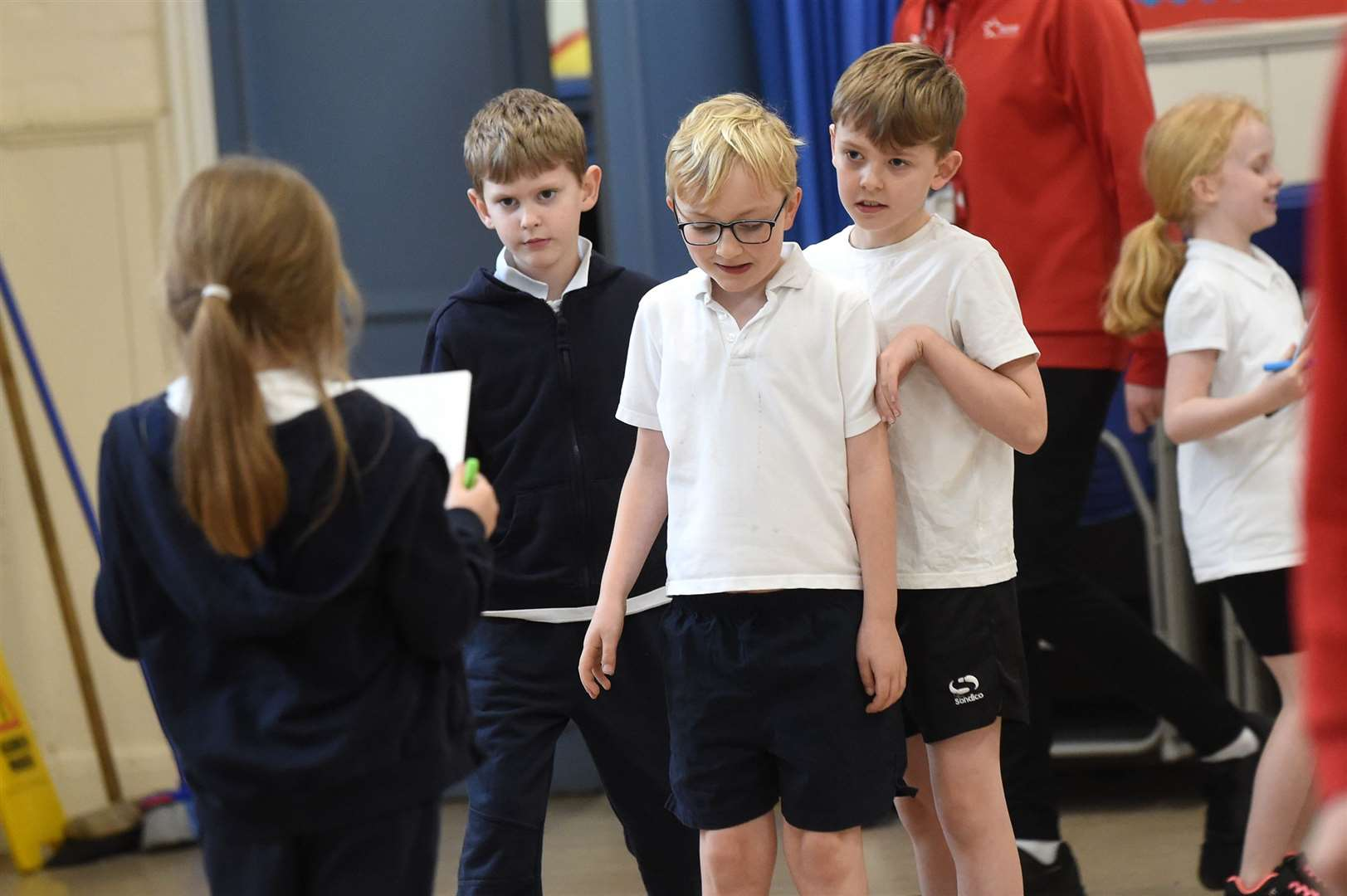 Glemsford Primary Academy staged a sports themed event to encourage youngsters to keep fit...PICTURE: Mecha Morton .... (22635385)