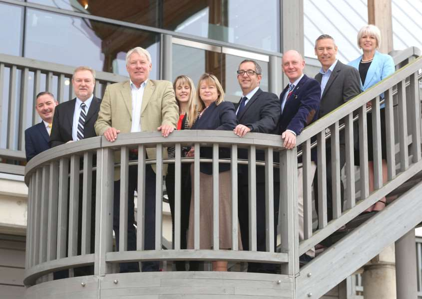 Representatives of the organisations behind the West Suffolk Business Festival and Awards 2017