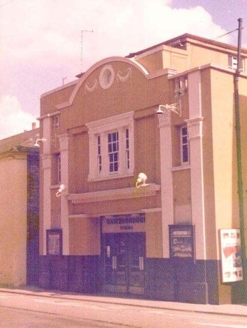 Gainsborough cinema in East Street, Sudbury