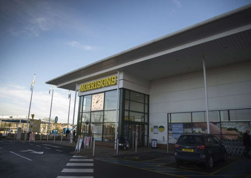 Morrisons Supermarket in Stowmarket.'Picture Mark Westley ANL-160113-232725009