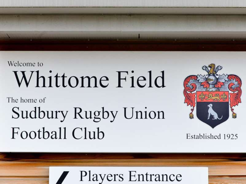 England defence coach Paul Gustard will be at Whittome Field, the home of Sudbury Rugby Club, on Tuesday. Picture: Tudor Morgan-Owen