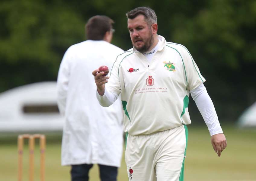 DISAPPOINTING DEFEAT: Long Melford captain Jason Wade and his team-mates suffered a heavy defeat at the hands of mid-table Exning in their latest fixture in this season's Marshall Hatchick Two Counties Championship