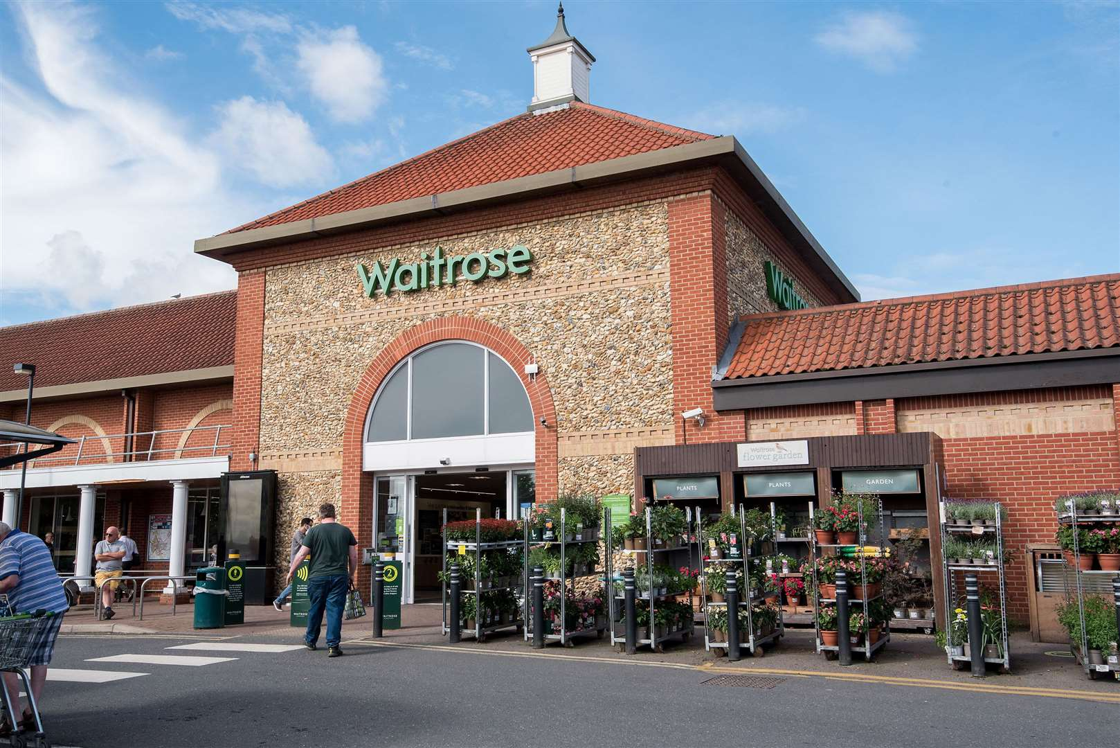 A number of changes are to be made at Waitrose, in Robert Boby Way, Bury St Edmunds, in proposals submitted to West Suffolk Council by the John Lewis Partnership. Picture: Mark Westley
