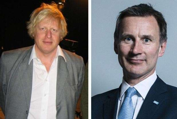 Boris Johnson and Jeremy Hunt voted on opposite sides of the EU Referendum - but both have committed to leading Britain out of the union.