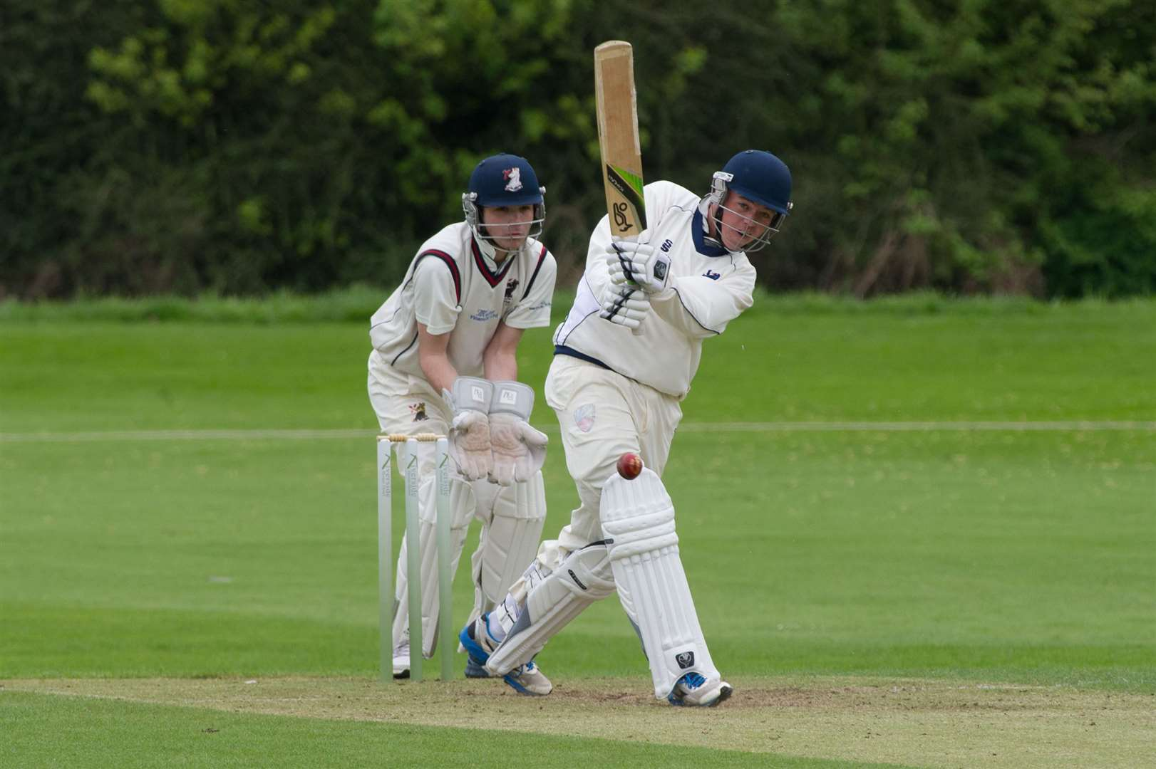 CRICKET - Mildenhall (Batting) v Haverhill (Fielding/Bowling)..Pictured: Jack Beaumont. (33484752)