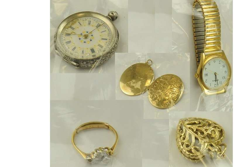 Police are asking anyone who recognises these items to get in touch