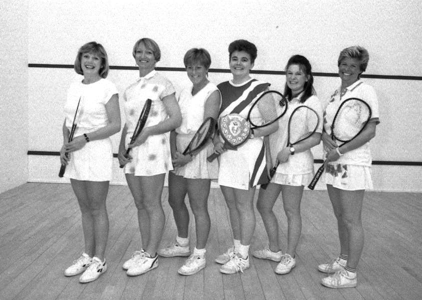 Nostalgia - Bury St Edmunds squash team in 1992