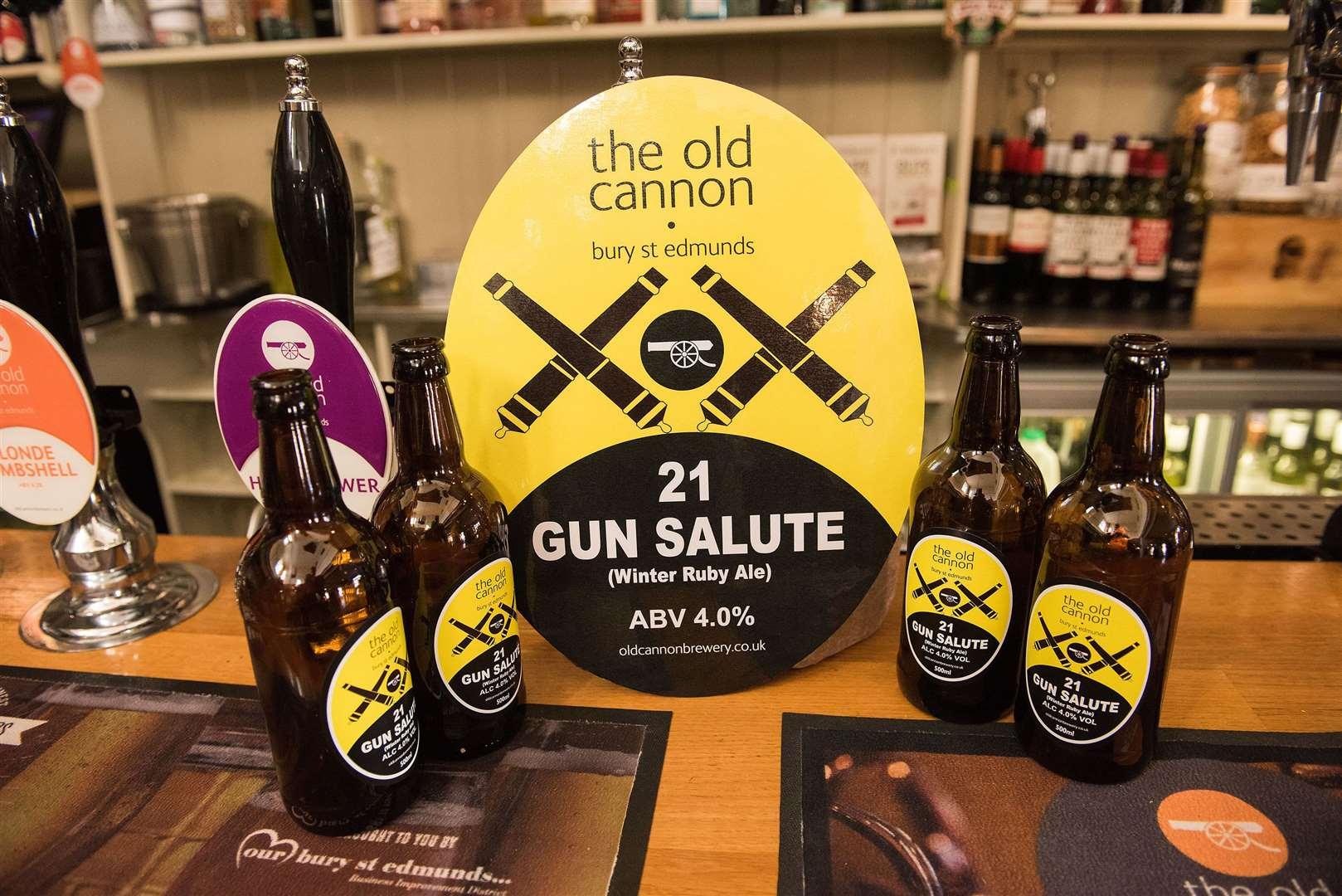21 Gun Salute - nouvelle bière brassée pour marquer son 21e anniversaire. Image: Mark Westley