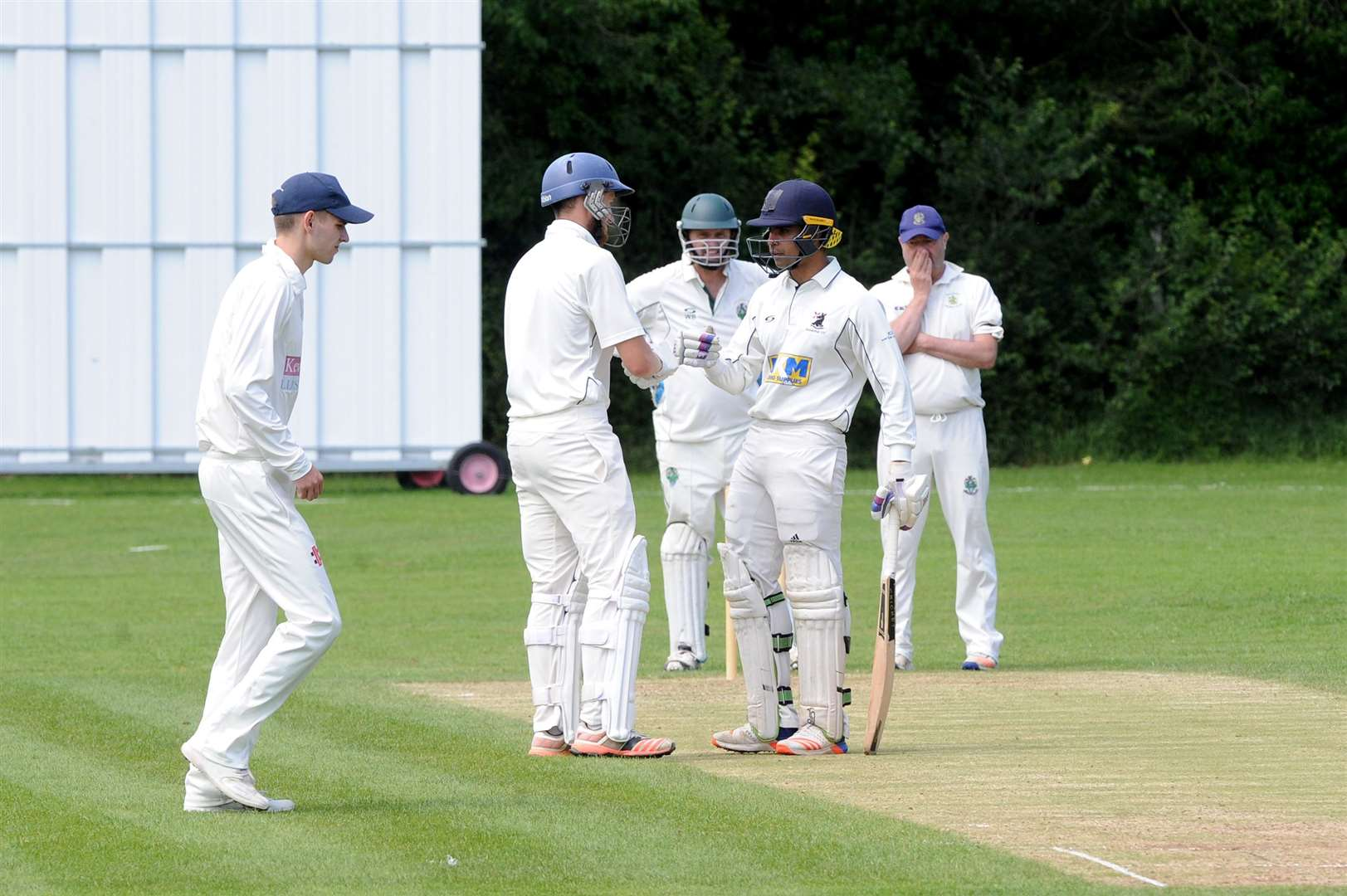 CRICKET - Haverhill (batting) v Halstead (Bowling/fielding)..Pictured: ...PICTURE: Mecha Morton... (12873829)