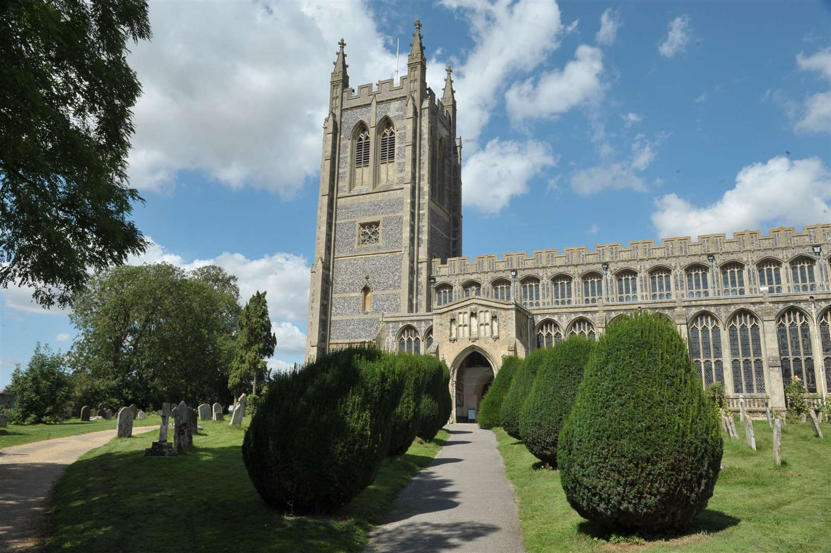 Holy Trinity Church, Long Melford. (15230821)
