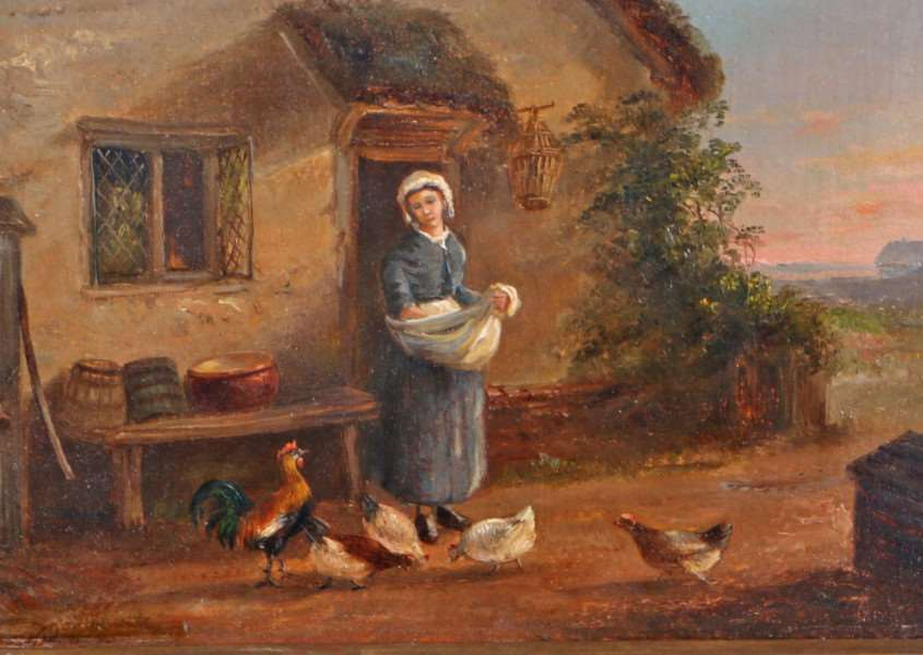This painting by Ipswich artist Thomas Smythe was a lot in a Bishop & Miller auction last year ANL-160229-170322001