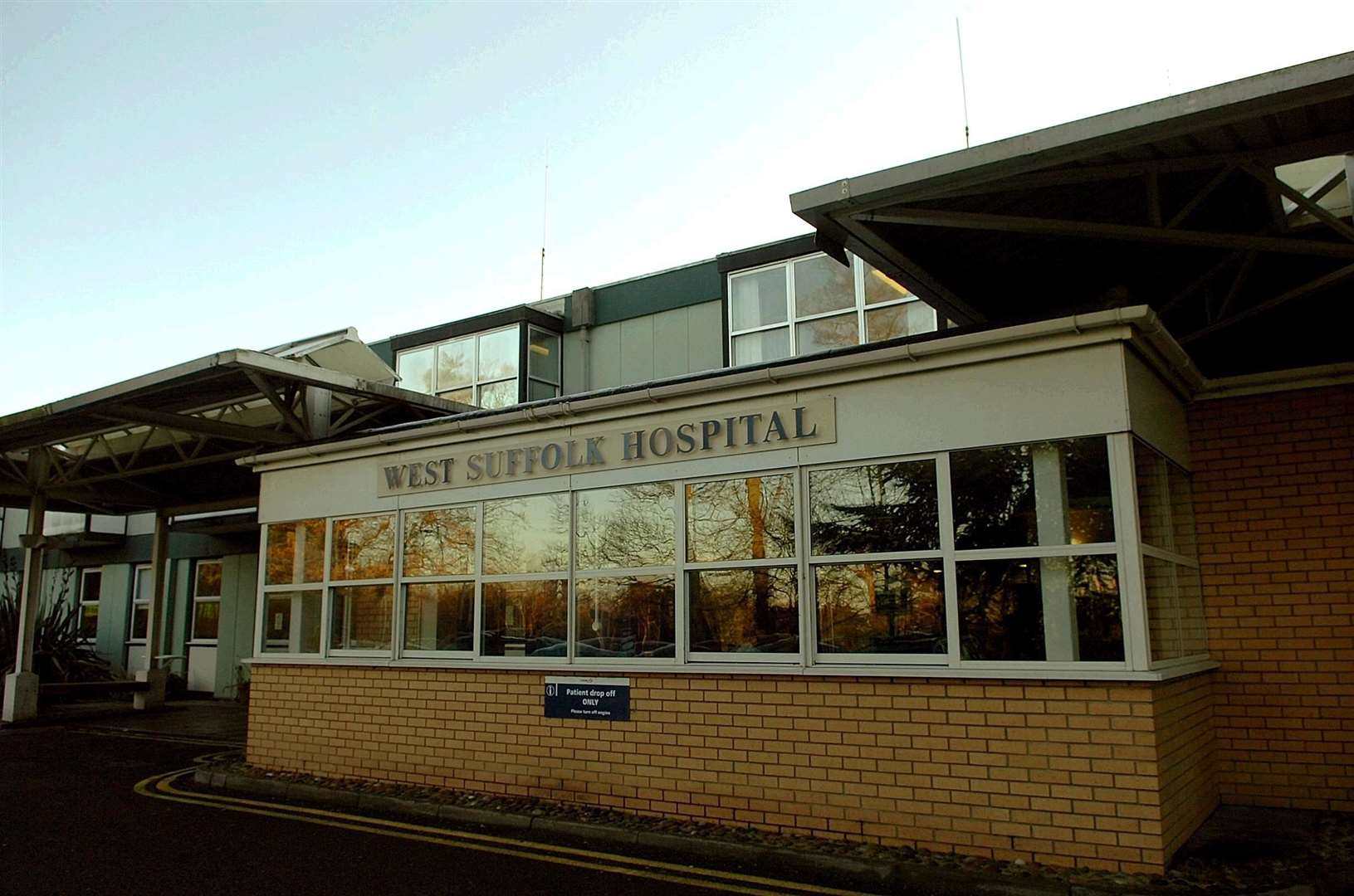 West Suffolk Hospital has lost its 'outstanding rating'