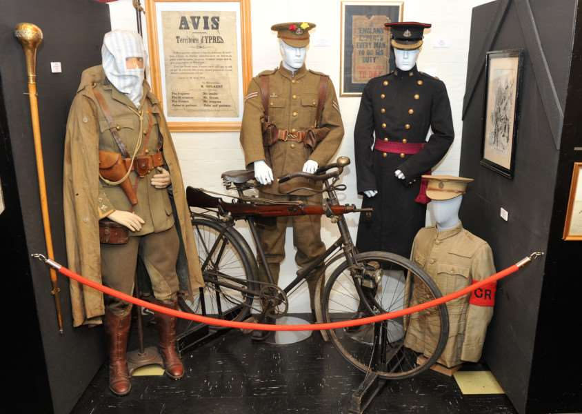 FEATURE - Suffolk Regiment Museum ANL-150913-205229009