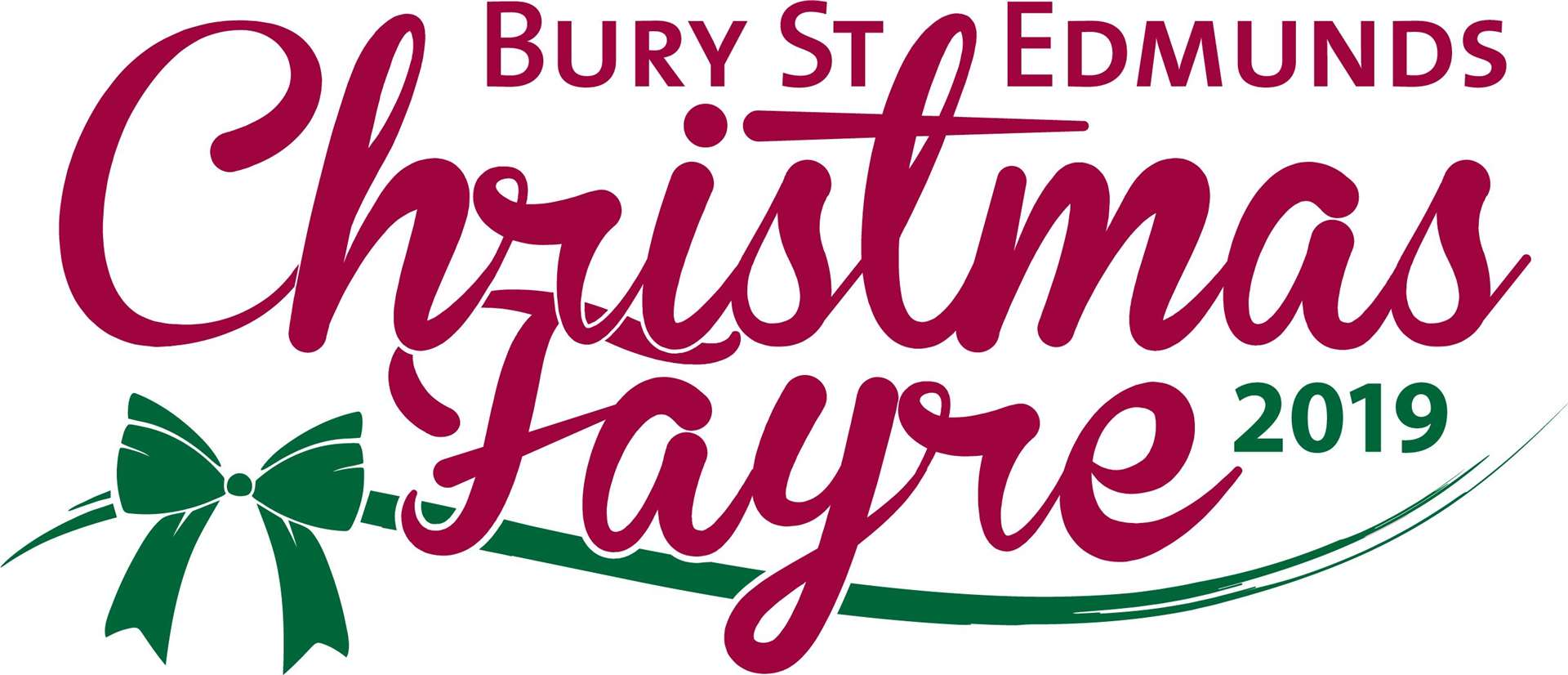 Bury St Edmunds Christmas Fayre 2019 logo. Picture: West Suffolk Council