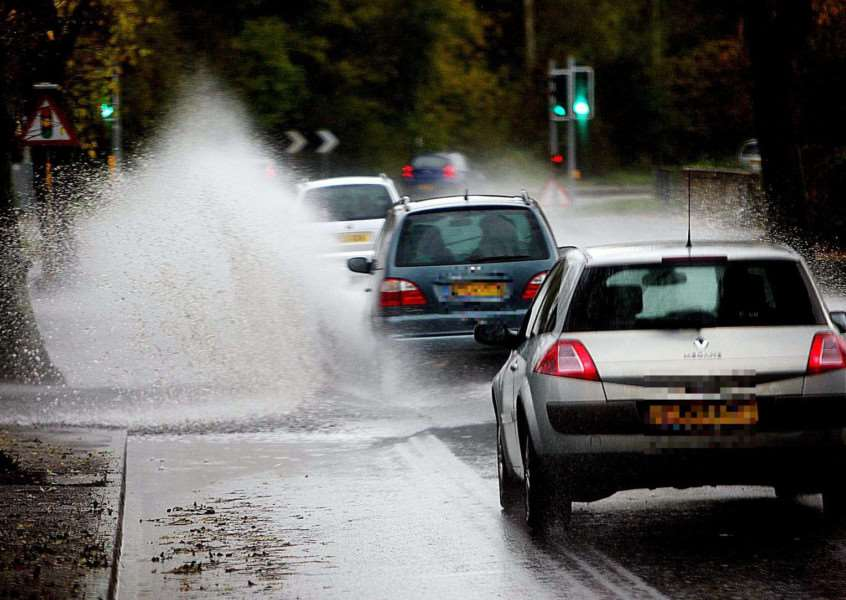 Localised flooding could happen anywhere in East Anglia today