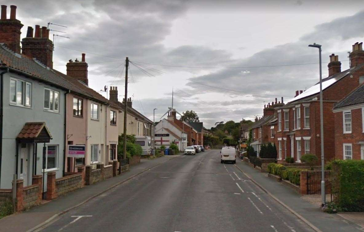 Three dogs were attacked in Kessingland High Street. Picture: Google (46816172)