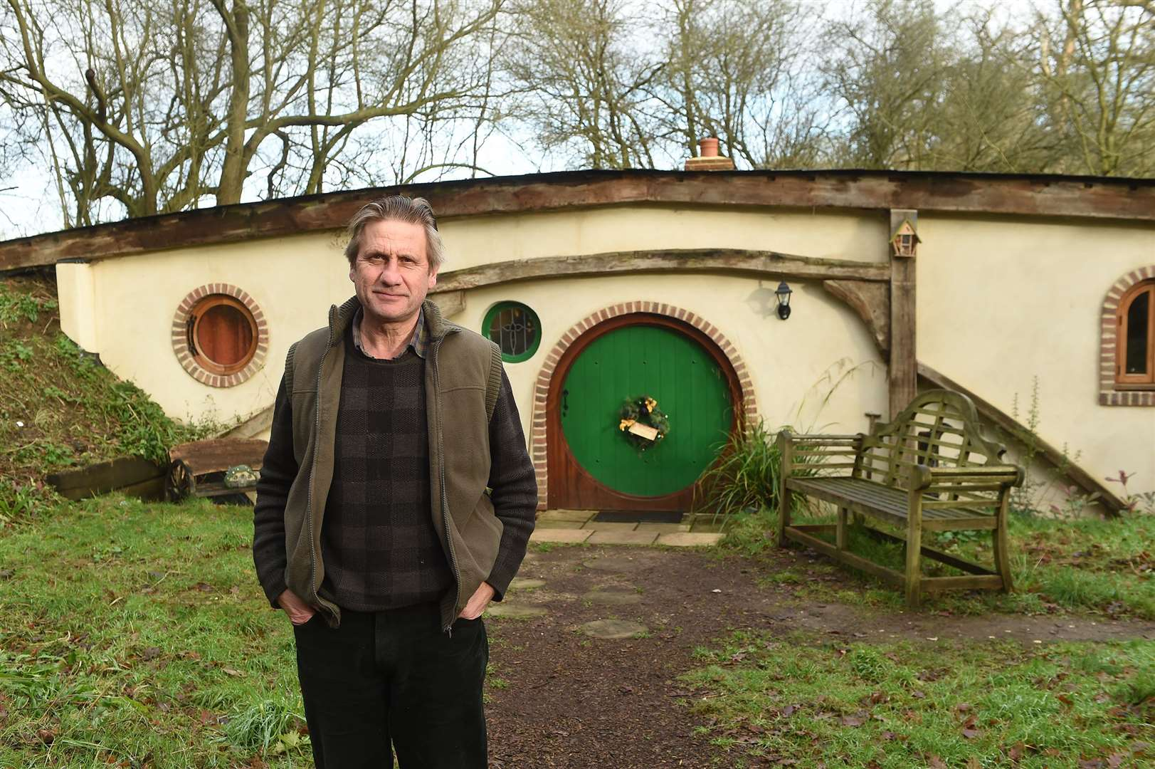 West Stow Pods has been named regional best glamping site of the year..Pictured: Owner Jan Lengyel .....PICTURE: Mecha Morton .... (26031242)