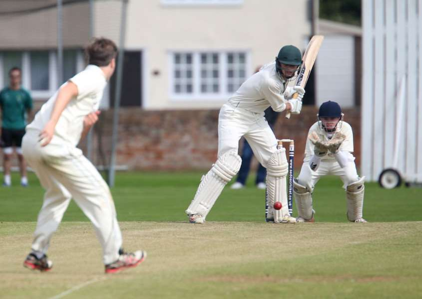 BIG HITTING: Josh Wells hit an unbeaten 173 runs to help Halstead to a four wicket win