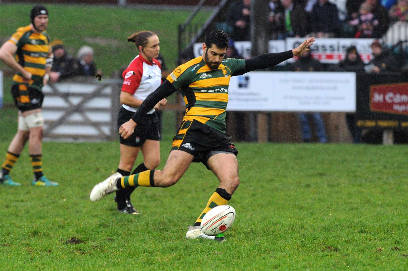 RUGBY - Bury St Edmunds v Cantebury..Pictured: Franco Catuogno...PICTURE: Mecha Morton. (5877053)