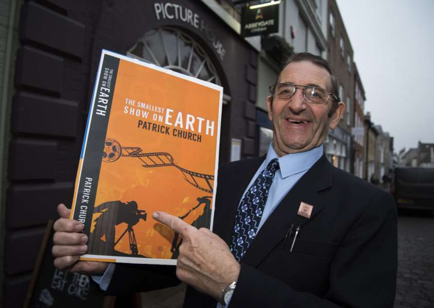 Pat Church has penned his autobiography 'The Smallest Show On Earth'. Picture Mark Westley