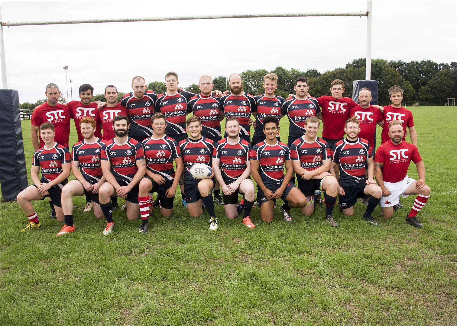 STOWMARKET: Rugby - pre-season tournament at Stowmarket Stowmarket Rugby Team Picture Mark Westley. (5565170)