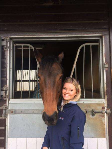 former apprentice Chloe Connell who works at the British Racing School