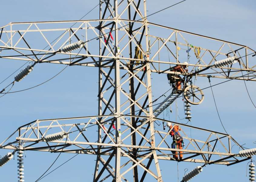The power cut is expected to be sorted out by 11.30am
