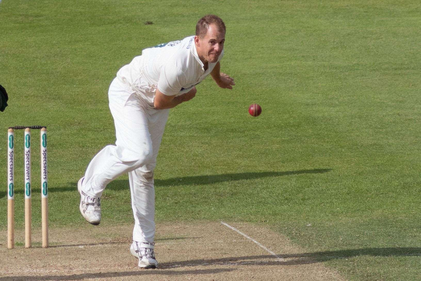 Neil Dexter, Suffolk's new white-ball professional, bowling for Leicestershire Picture: Leicestershire CCC (21981483)