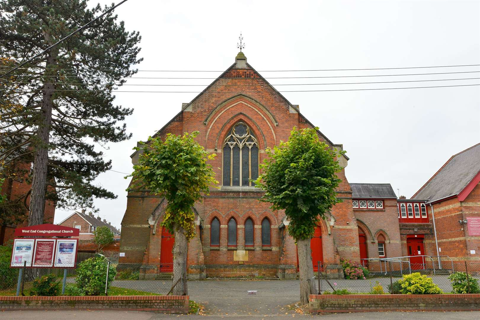 West End Congregational Church in Withersfield Road, Haverhill