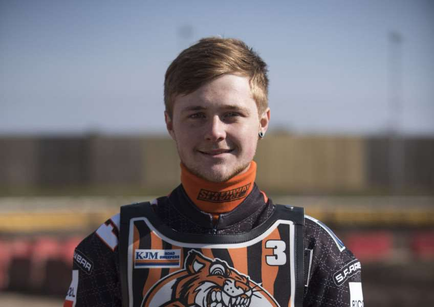 PROMOTED: Connor Mountain will be lead rider for the Fen Tigers.