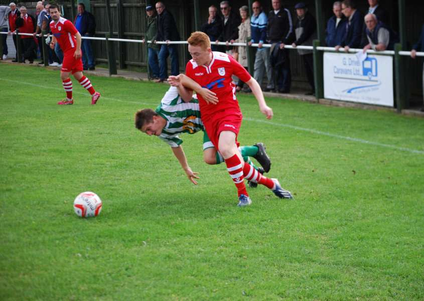 Tyler Kemp has signed for Haverhill Rovers. Picture courtesy of Haverhill Rovers ANL-141015-131553006