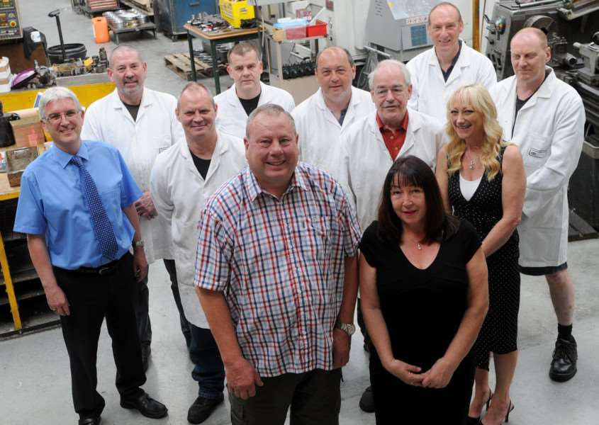 Bob Hyde, Works manager at C Rayment Precision Engineering, is retiring after 43 years at the firm.''''PICTURE: Mecha Morton
