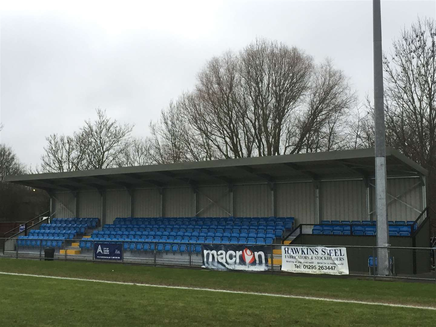 Non-league grounds have been empty since March