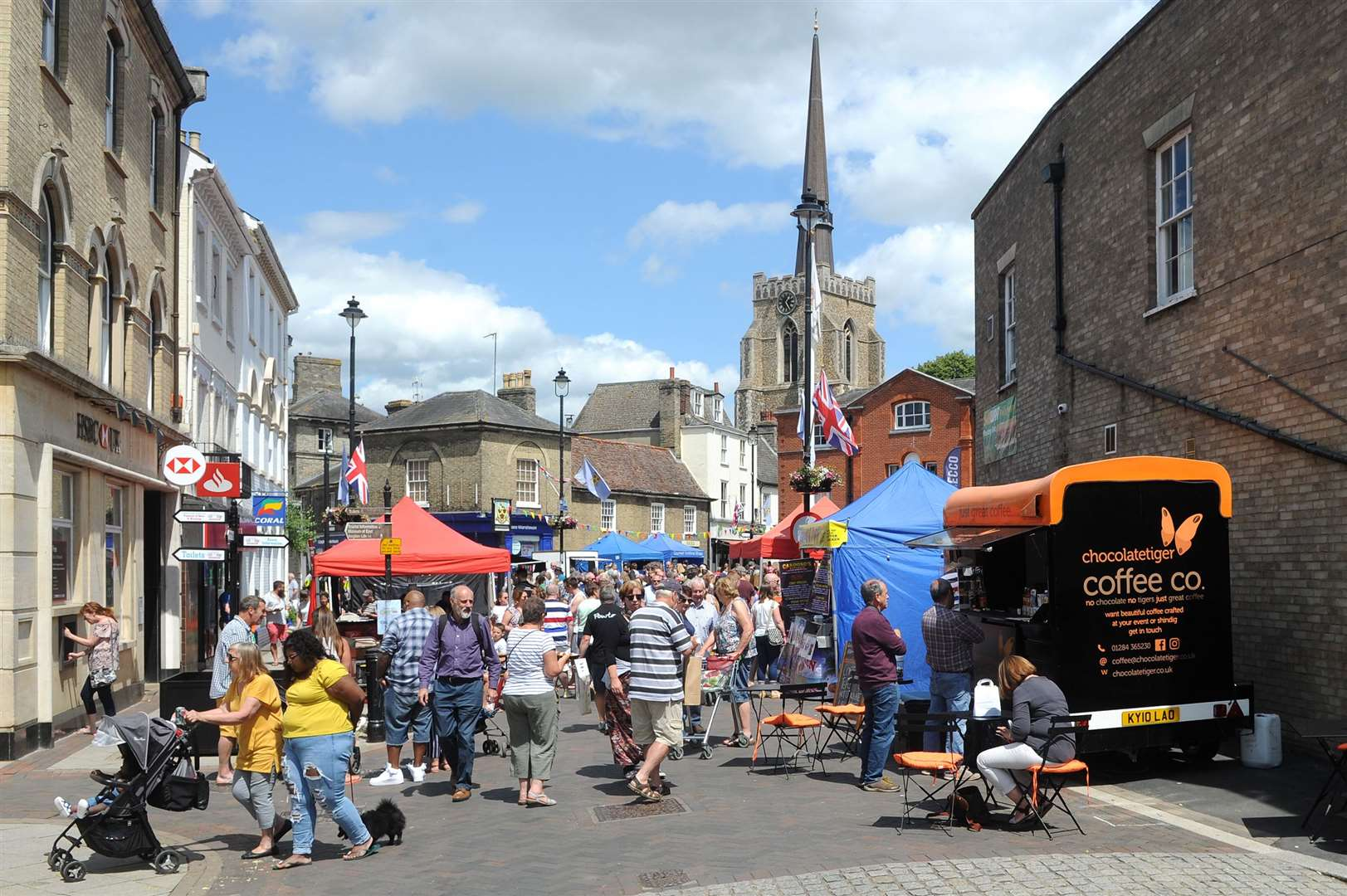 Stowmarket Food and Drink Festival 2019 in Market Place