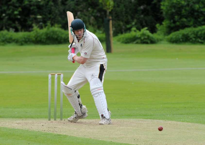 USEFUL KNOCK: Opener Joe Reed contributed 75 of Mildenhall's 263 runs in their victory over Halstead.
