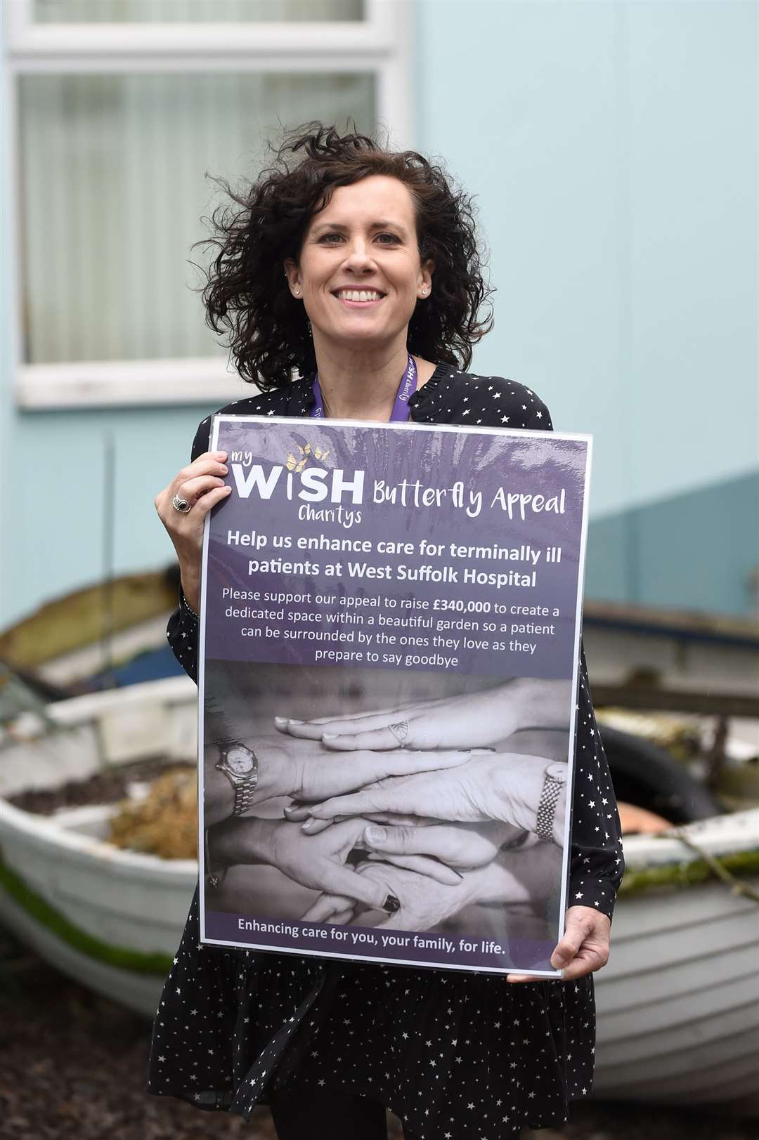 Sally Daniels, appeal manager from My WiSH Charity. Picture by Mecha Morton.