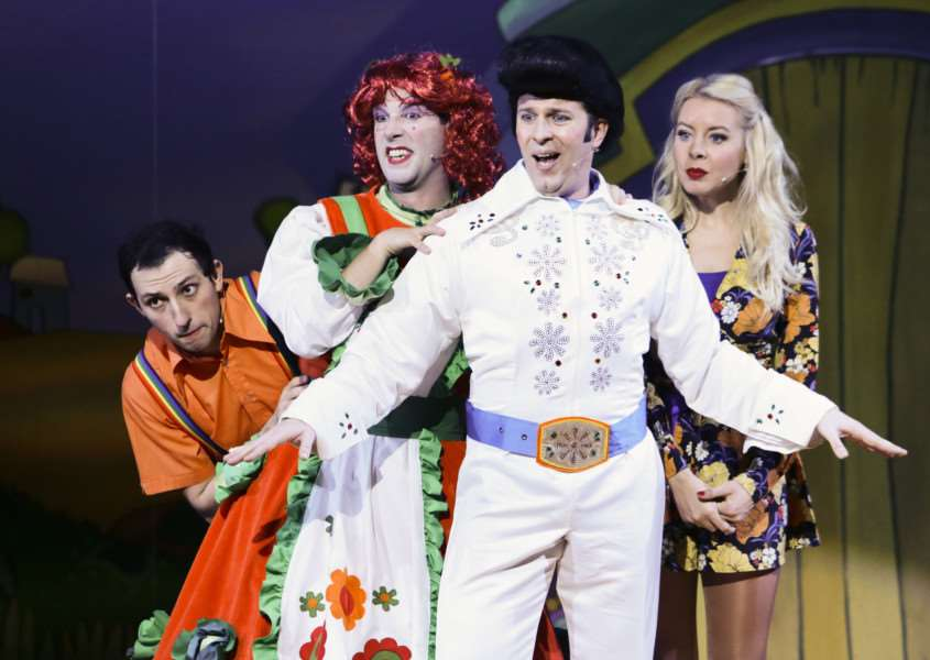 Jack & the Beanstalk at The Theatre Royal in Bury St Edmunds - picture by Keith Mindham Photography ANL-150712-123627001